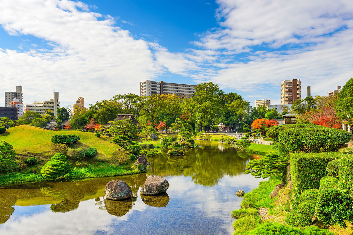 2호선 구마모토 + 야나가와 + 야매 녹차밭